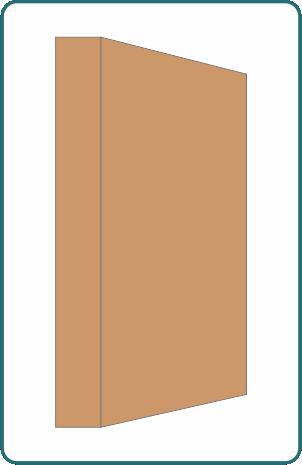 Lona acrílica bañada y masa - Traemos I