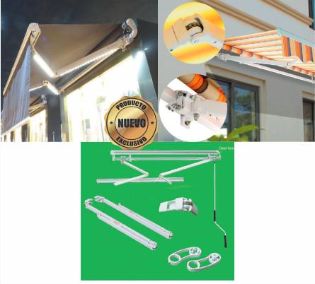 Repuestos y suministros para toldos, parasoles y trampolines - Traemos Innovación