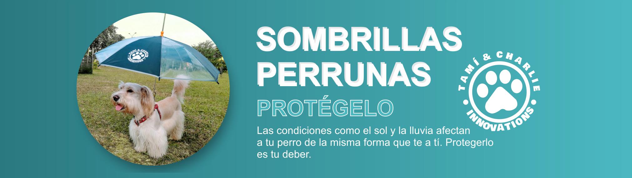 Sombrillas Perrunas - Traemos Innovacion