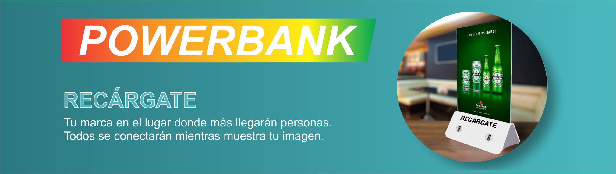 Power Bank - Traemos Innovación