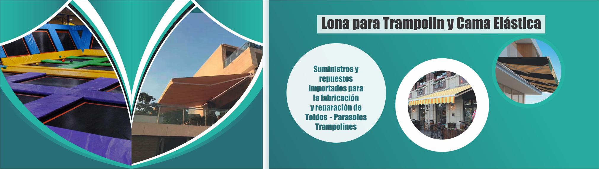 Lona para tyoldos, parasoles y trampolines - Traemos Innovación