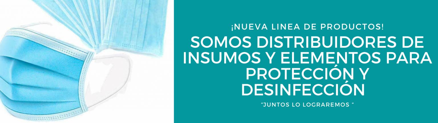Somos distribuidores de insumos y_o elementos de protección